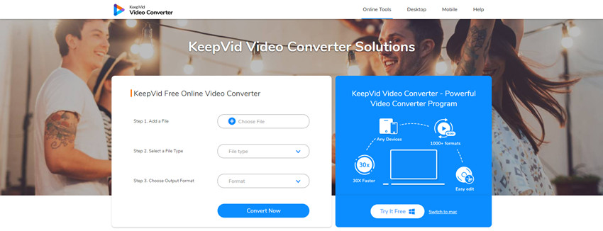 KeepVid Online Video Converter