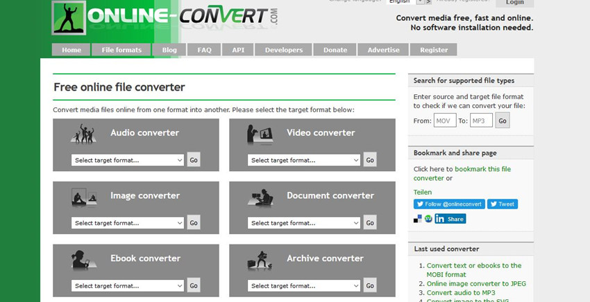 Helpful Online and Desktop Converters to Convert MP4 to MPEG